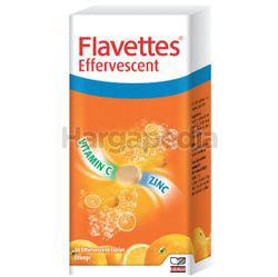 Flavettes Effervescent Vitamin C + Zinc 30s