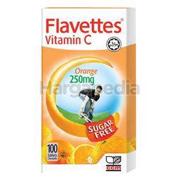Flavettes Sugar Free Vitamin C 250mg 100s
