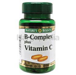 Nature's Bounty B Complex Plus C 45s
