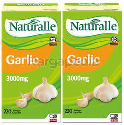 Naturalle Garlic Oil 3000mg 2x220s