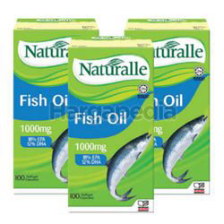 Naturalle Fish Oil 1000mg 3x100s