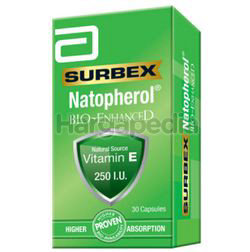 Surbex Natopherol Bio-Enhanced Vitamin E 250I.U 30s