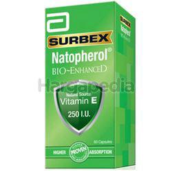 Surbex Natopherol Bio-Enhanced Vitamin E 250I.U 60s