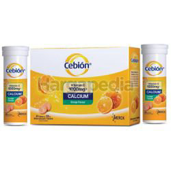 Cebion Effervescent Tables Oral Intake 1000mg + Calcium 40s + 20s