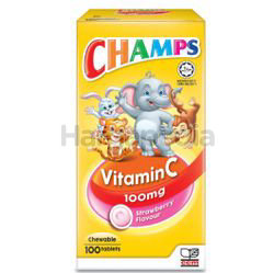 Champs C 100mg Strawberry 100s