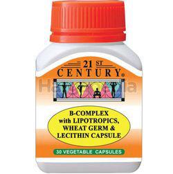 21st Century B-Complex Vegetarian Capsule 30s