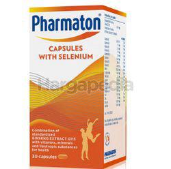 Pharmaton Capsules with Selenium 30s