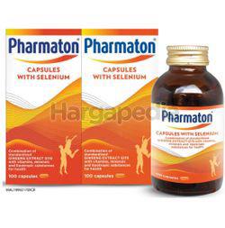 Pharmaton Capsules with Selenium 2x100s