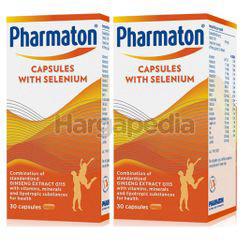 Pharmaton Capsules with Selenium 2x30s