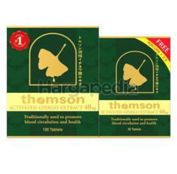 Thomson Activated Ginkgo 40mg 120s + 30s