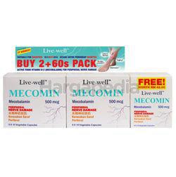 Live-Well Mecomin 500mg 2x90s+60s