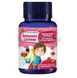 Chewies Immuno Licious Strawberry Flavours 60s