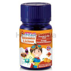 Chewies Immuno Licious Orange Flavours 30s