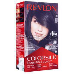Revlon Colorsilk 11 Soft Black Hair Colour 1set