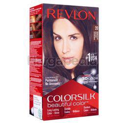 Revlon Colorsilk 20 Brown Black Hair Colour 1set