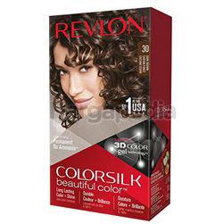 Revlon Colorsilk 30 Dark Brown Hair Colour 1set