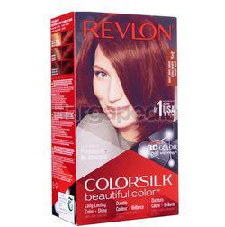 Revlon Colorsilk 31 Dark Auburn Hair Colour 1set