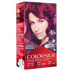 Revlon Colorsilk 34 Deep Burgundy Hair Colour 1set