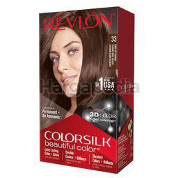 Revlon Colorsilk 33 Dark Soft Brown Hair Colour 1set
