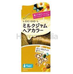 Lucido-L Creamy Milk Hair Color Hazelnut 1set