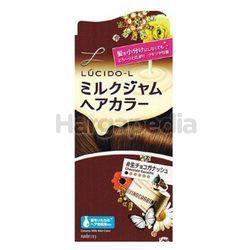 Lucido-L Creamy Milk Hair Color Chocolate Ganache 1set