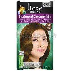 Liese Blaune Treatment Cream Hair Color 3 Lighter Brown 1set