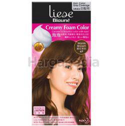 Liese Blaune Creamy Foam Color 4P Warm Brown 1set