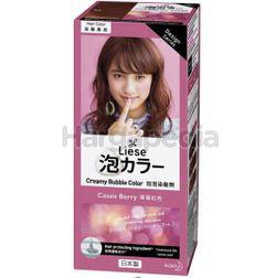 Liese Creamy Bubble Hair Color  Cassis Berry 1set