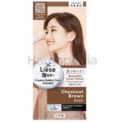 Liese Creamy Bubble Hair Color Chestnut Brown 1set