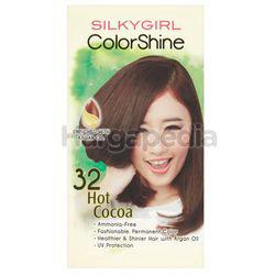 Silky Girl Color Shine Hair Color 32 Hot Cocoa 1set