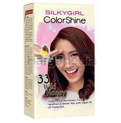 Silky Girl Color Shine Hair Color 33 Wild Honey 1set