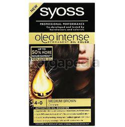 Syoss Oleo Intense Haircolor 4-0 Medium Brown 1set
