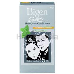 Bigen Speedy Hair Colour 881 Natural Black 1set