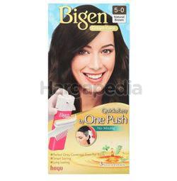 Bigen Cream Colour 5-0 Natural Brown 1set