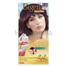 Bigen Cream Colour 5-26 Burgundy Brown 1set