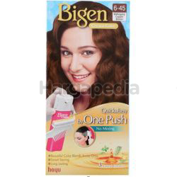 Bigen Cream Colour 6-45 Mahogany Copper Brown 1set