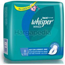 Whisper Heavy Flow & Overnight Wing 8s