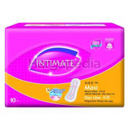 Intimate Cottony Surface Daylite Maxi Non Wing 10s