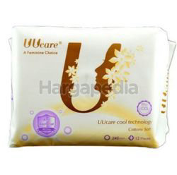 UUcare Cool Technology Pantyliner 240mm 12s