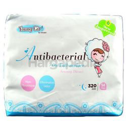 UUcare Young Girl Antibacterial Day 320mm 14s