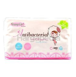 UUcare Young Girl Antibacterial Day 240mm 20s