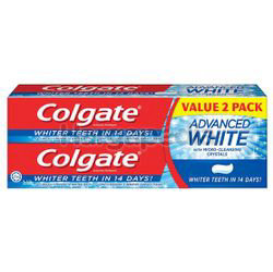 Colgate Advanced Whitening Toothpaste 2x160gm