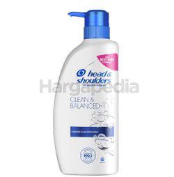 Head & Shoulders Shampoo Clean & Balanced 480ml