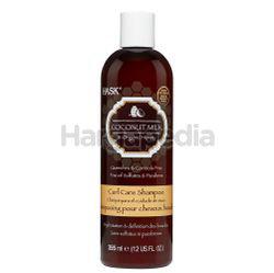 Hask Coconut Milk & Organic Honey Curl Shampoo 355ml