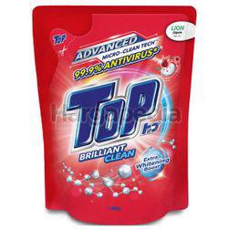Top Liquid Detergent Brilliant Clean Refill 1.8kg