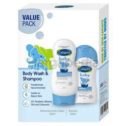 Cetaphil Baby Bath & Wash 230ml + Shampoo 200ml