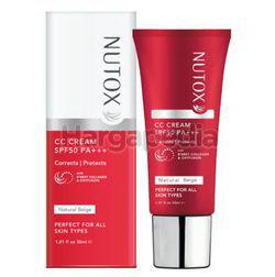 Nutox CC Cream Natural Beige 30ml