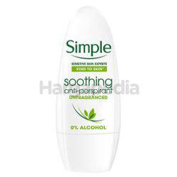 Simple Deodorant Roll On 50ml