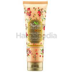 Nurish Organiq 24k Gold Facial Foam 100gm