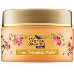 Nurish Organiq 24k Gold Moisturizing Night Cream 40gm